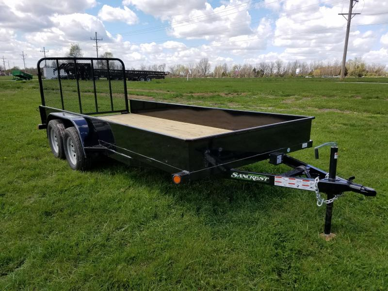 2017 Load Trail Solid Side 16' Utility Trailer in Ashburn, VA