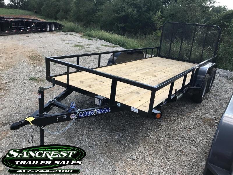 2019 Load Trail 77X16 TANDEM AXLE Utility W/4' GATE
