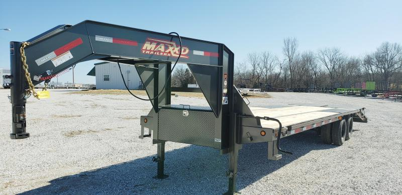 2019 MAXXD 102 X 32 LOW PRO GOOSENECK W/ MAXXD OUT RAMPS