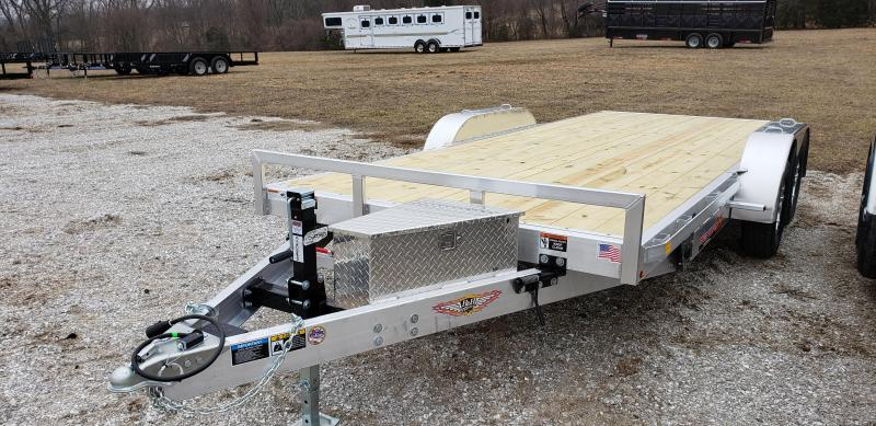 2019 H&H 82X18 MANUAL SPEEDLOADER MX EQUIPMENT Trailer