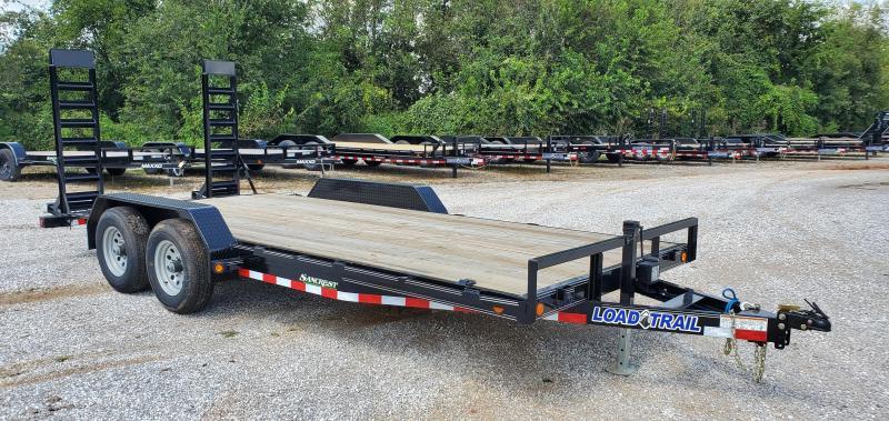 2019 Load Trail 83X18(16+2) TANDEM 10K CAR/EQUPMENT HAULER W/STAND UP RAMPS