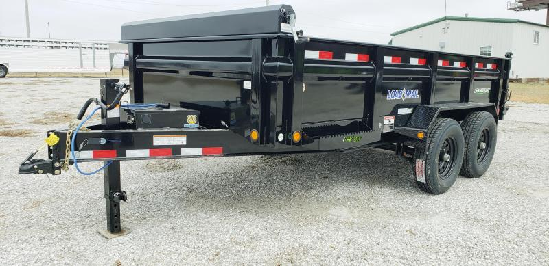2019 LOAD TRAIL 83 X 14 TANDEM DUMP TRAILER W/ 7 K AXLES