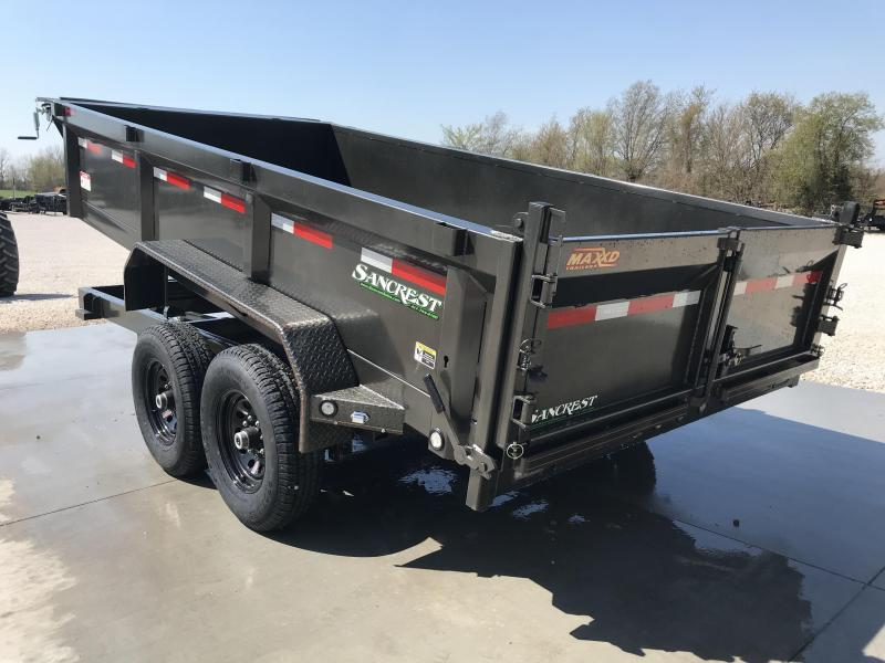 2019 MAXXD 83X14 TANDEM DUMP TRAILER W/7K AXLES