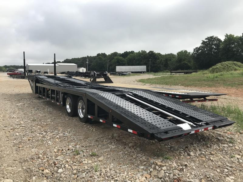 2019 Sun Country 53' NEX GEN AIR RIDE/AIR BRAKE W/ TWO LIFT AND TILT 5 CAR HAULER