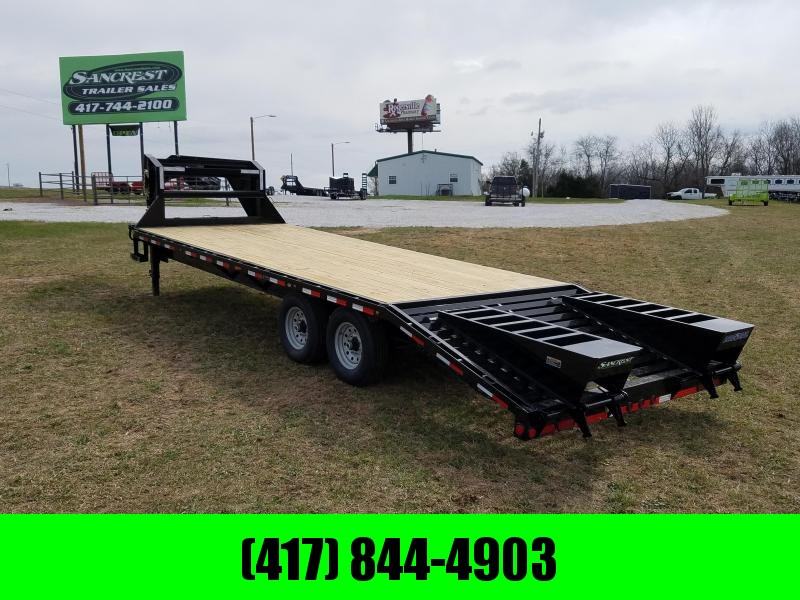 2018 Load Trail Gooseneck Flatbed Trailer 102 x 25