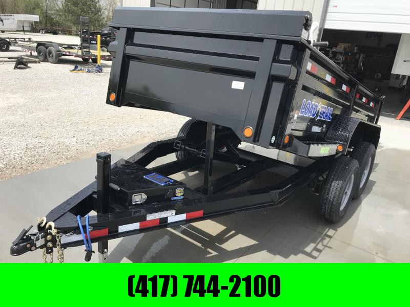 2019 LOAD TRAIL 72X12 TANDEM DUMP TRAILER W/5200 AXLES