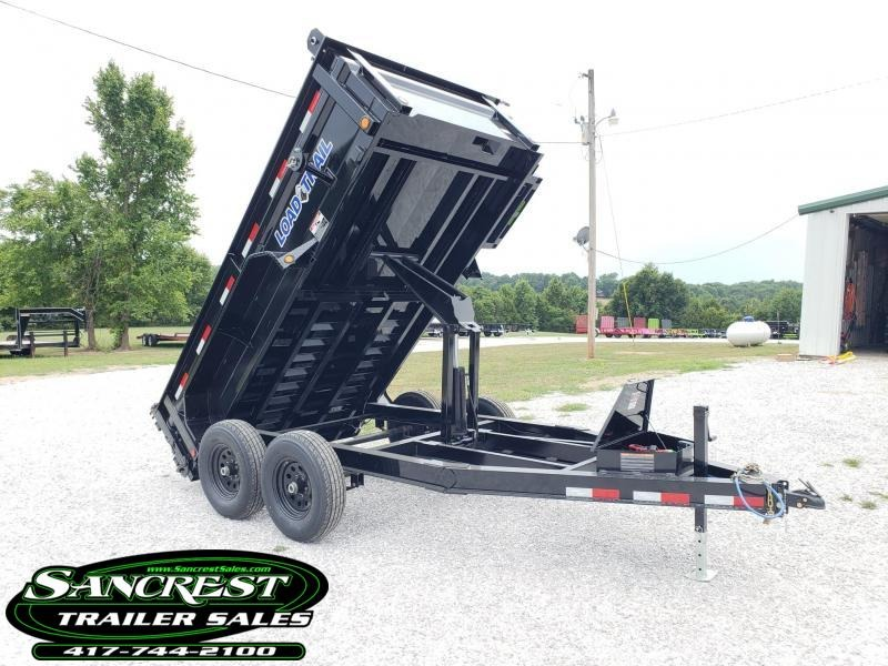 "2019 Load Trail 72"" x 12' Tandem Axle Dump ( I-BEAM FRAME ) in Briar, MO"