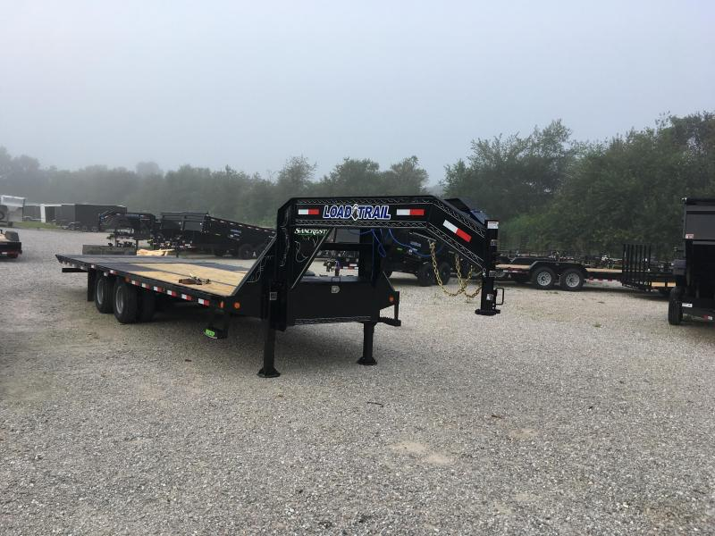 2020 Load Trail GOOSENECK HYDRO DOVE Flatbed Trailer