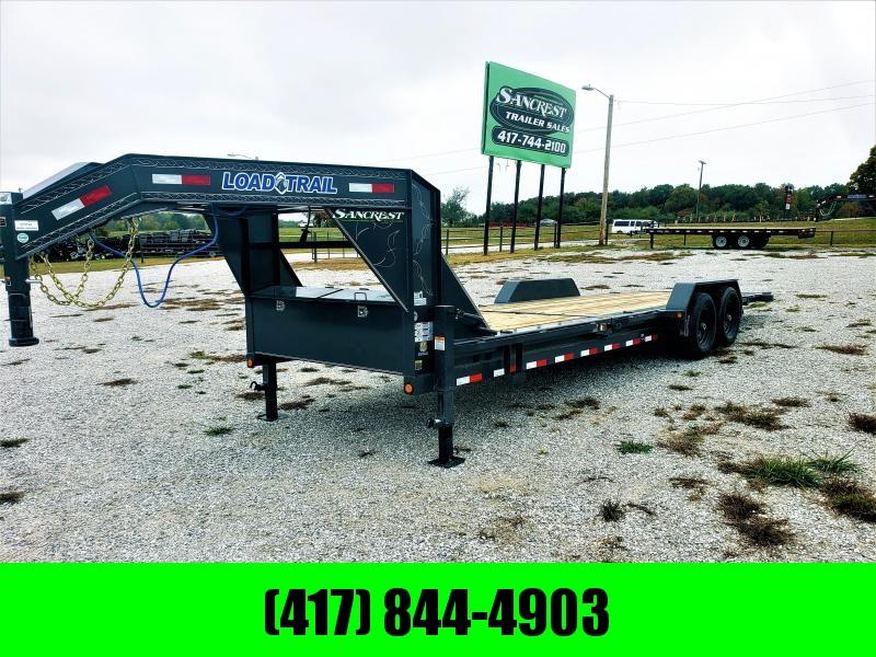 """83"""" X 24' Tilt-N-Go Gooseneck Tandem Axle Tilt Deck I-Beam Frame W/7K AXLES in Ashburn, VA"""