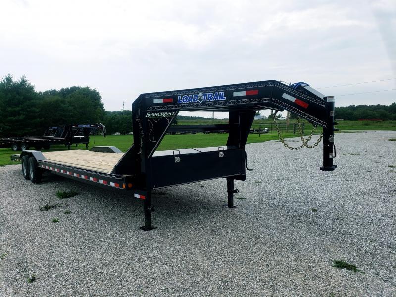 """2018 Load Trail 102"""" x 32' Tandem Gooseneck Carhauler"""
