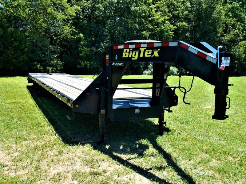 2019 BIG TEX 102 X 35 GOOSENECK W/ MEGA RAMPS(((((HOT SHOT READY)))))