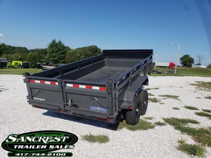 """2019 Load Trail 83"""" x 14' Tandem Axle Dump (GRAY)"""