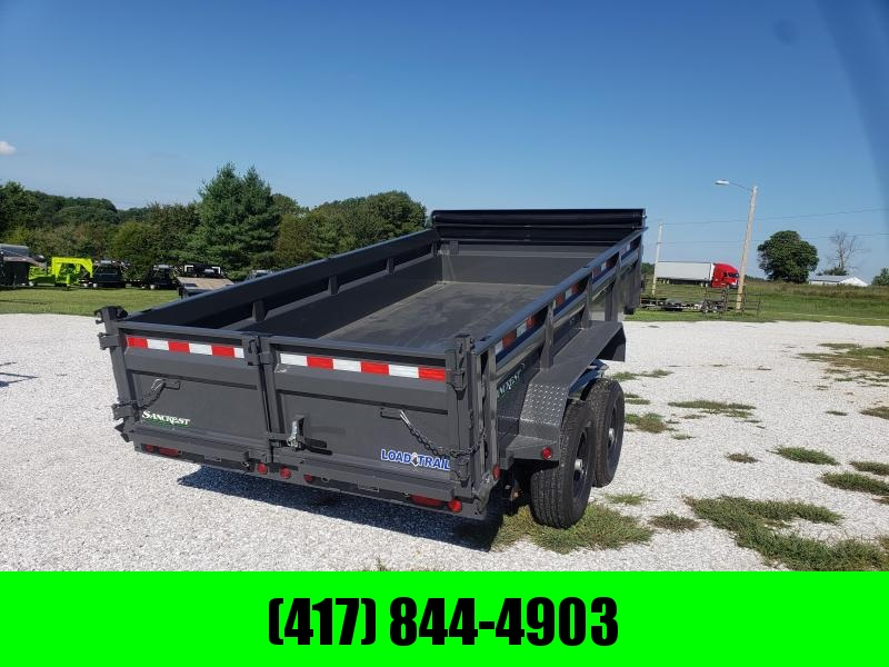 "2019 Load Trail 83"" x 14' Tandem Axle Dump (GRAY) in Ashburn, VA"