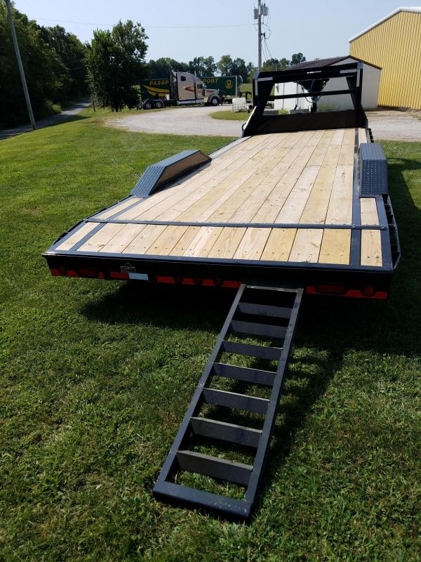 "2018 Load Trail Gooseneck Equipment Trailer 102"" x 24'"