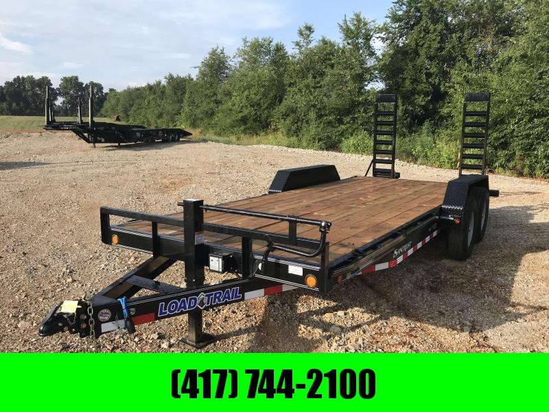 2019 Load Trail 83X20 Equipment Trailer W/FLIP UP RAMPS in Omaha, AR