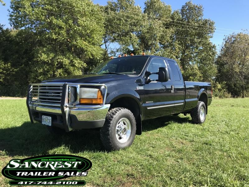 2000 Ford F-350 7.3L DIESEL SUPER DUTY 4X4 W/SUPER CAB LONG BED