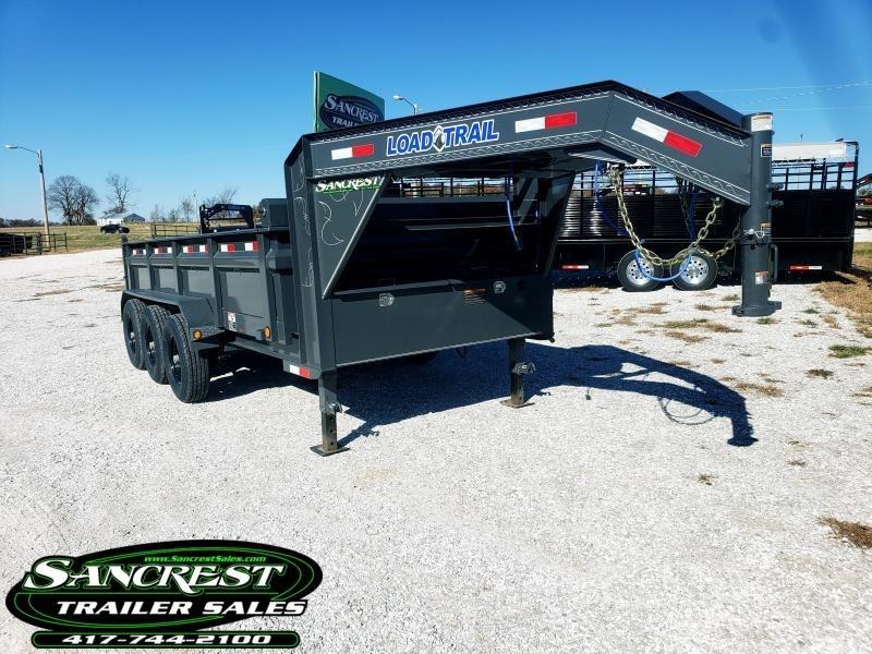 "2019 Load Trail 83"" x 16' Triple Axle Gooseneck Dump"
