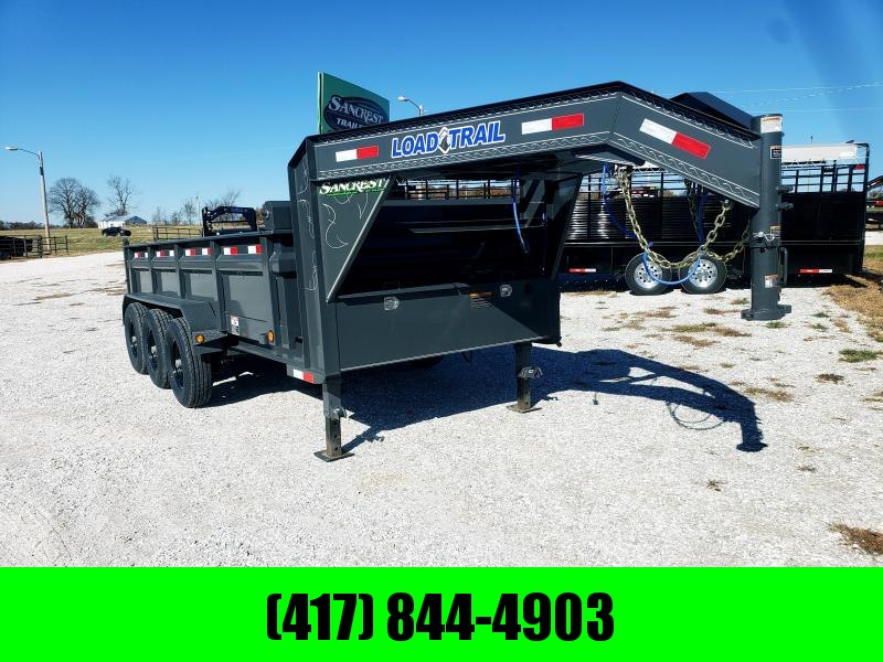 "2019 Load Trail 83"" x 16' Triple Axle Gooseneck Dump in Ashburn, VA"