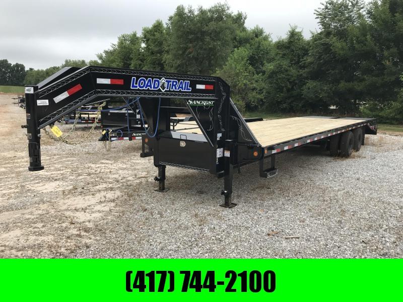 """2018 Load Trail 102"""" x 32' Tandem Gooseneck w/max ramps"""