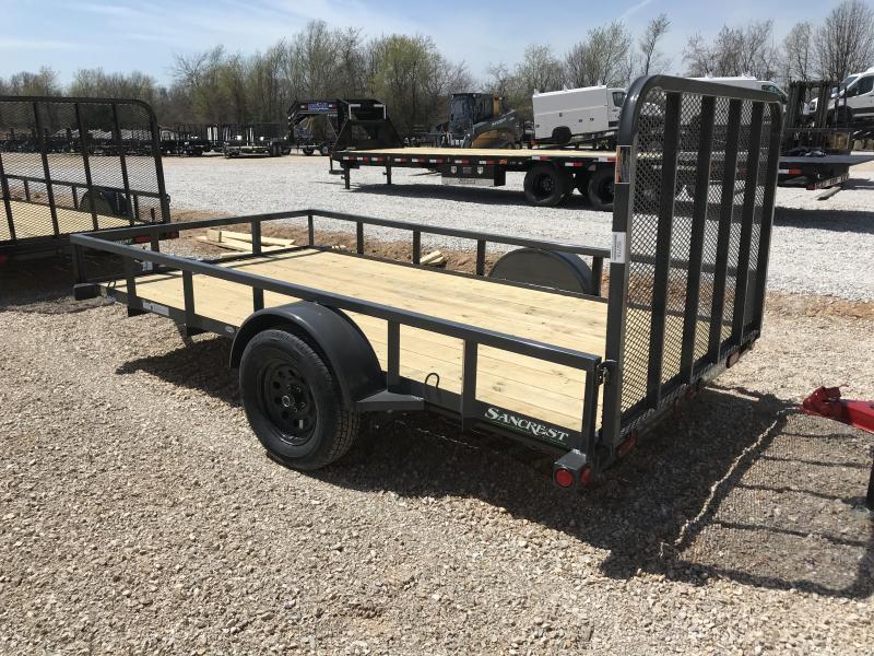 "2018 Load Trail 77"" X 12' Single Axle Utility Trailer"
