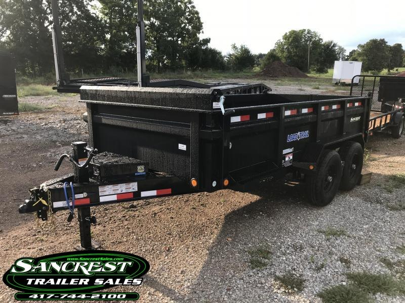 "2019 Load Trail 83X14 Dump Trailer W/RAPID 8 AMP CHARGER/SPARE TIRE MOUNT/MAX STEP(30"") in Duenweg, MO"