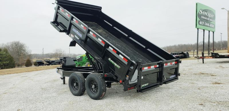2019 LOAD TRAIL 83 X 14 TANDEM DUMP TRAILER W/7K AXLES