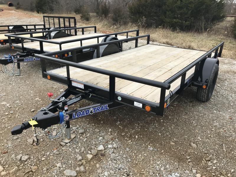 "2019 Load Trail 77X12 4"" CHANNEL TILT DECK Utility Trailer"
