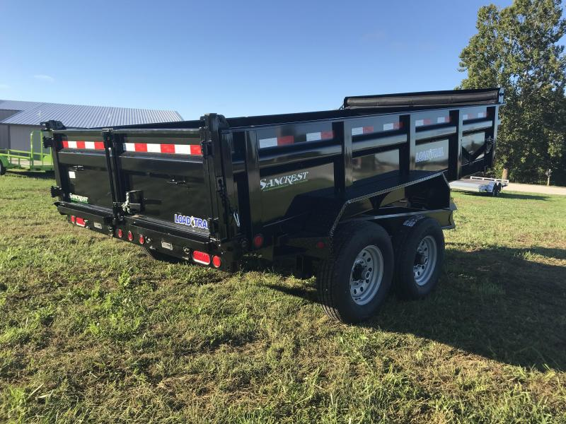 2019 Load Trail 83X14 Dump Trailer W/7K AXLES MAX STEP RAPID CHARGER AND SPARE TIRE MOUNT