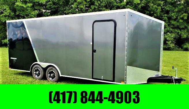 2019 IMPACT TRAILER Cargo Trailer SLANT WEDGE FRONT 8.5 X 24