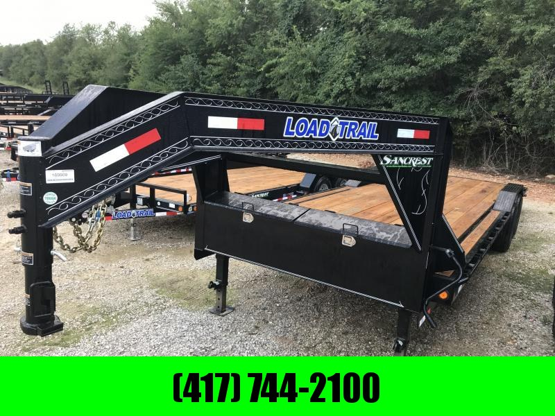 2018 Load Trail 102X26 TANDEM GOOSENECK CAR HAULER W/7K AXLES/DRIVE OVER FENDERS