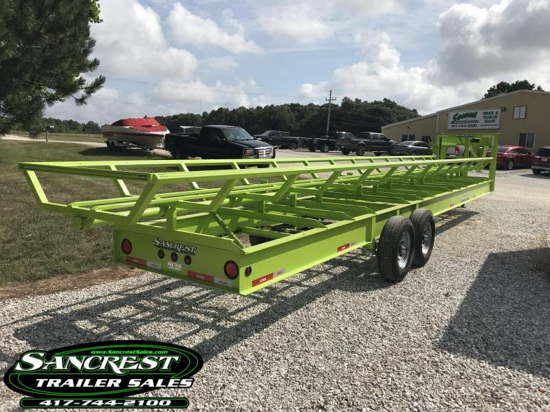 2018 Kodiak SP 36' HAY Trailer (SAFETY GREEN)