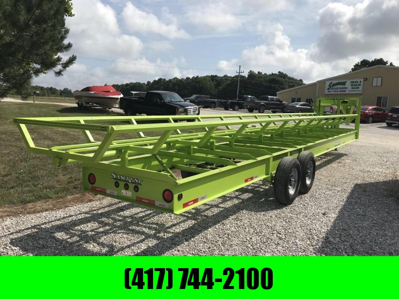 2018 Kodiak SP 36' HAY Trailer (SAFETY GREEN) in Lowell, AR