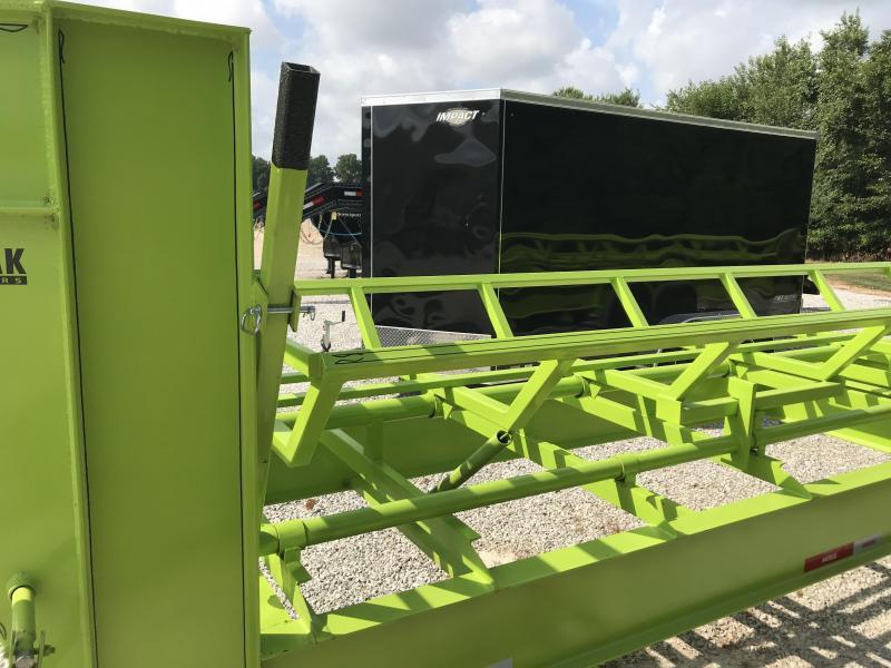 2018 Kodiak SP 36' HAY Trailer (SAFETY GREEN)