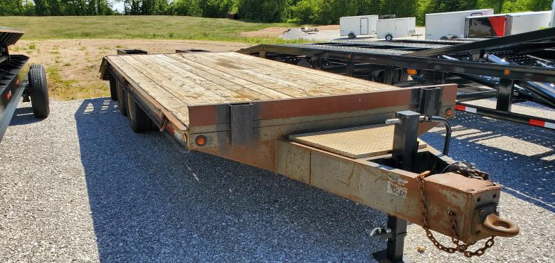 1994 Belshe FLATBED PINTLE Equipment Trailer