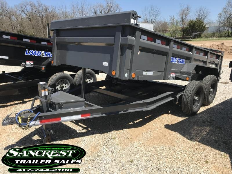 2018 Load Trail 83x14 Low-Pro Dump Trailer in Cassville, MO