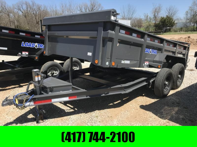 2018 Load Trail 83x14 Low-Pro Dump Trailer