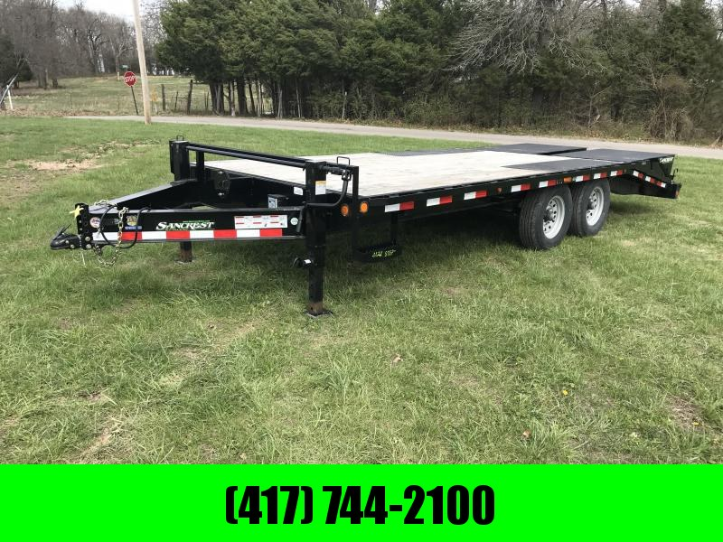 2018 Load Trail 102 x 20' Flatbed Trailer W/Max Ramps