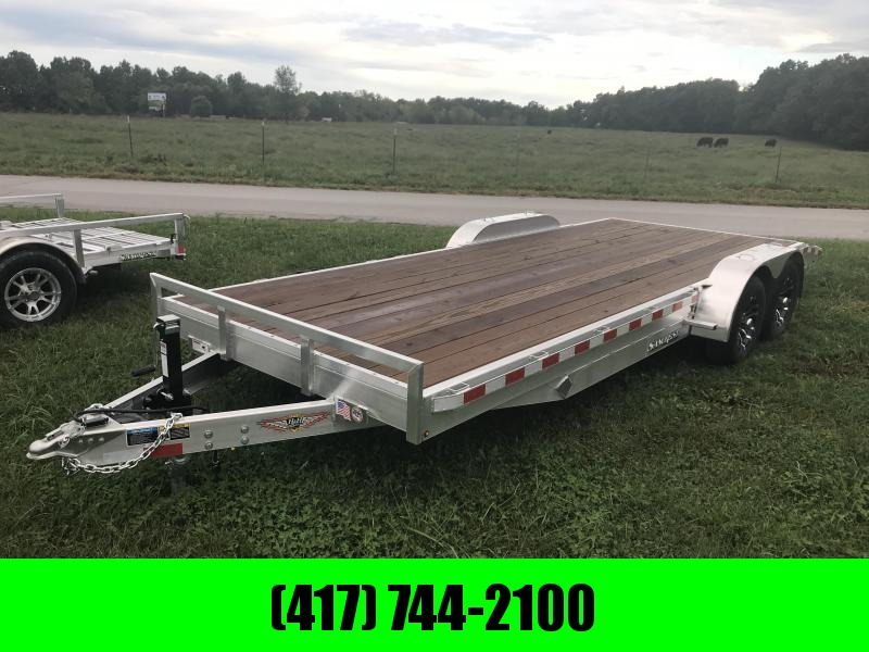 2018 H and H Trailer 82X20 ALUMINUM CAR HAULER W/5200# AXLES/SPARE TIRE MOUNT AND ALUM RIMS in Ashburn, VA