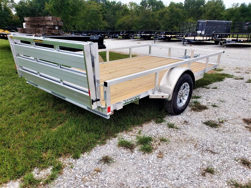 2019 H and H Trailer 82 X 12 Single Axle Utility
