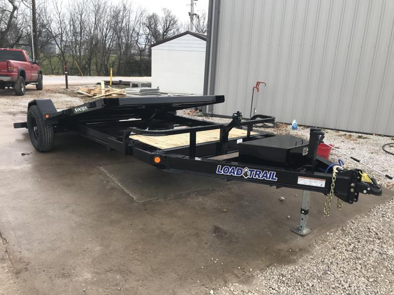 2019 Load Trail 83X15 SINGLE 7K AXLE TILT-N-GO Equipment Trailer W/I-BEAM FRAME & TOOLBOX