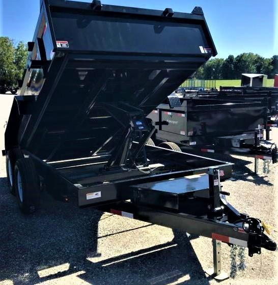 2019 H and H 83X12 Dump Trailer W/7K AXLES