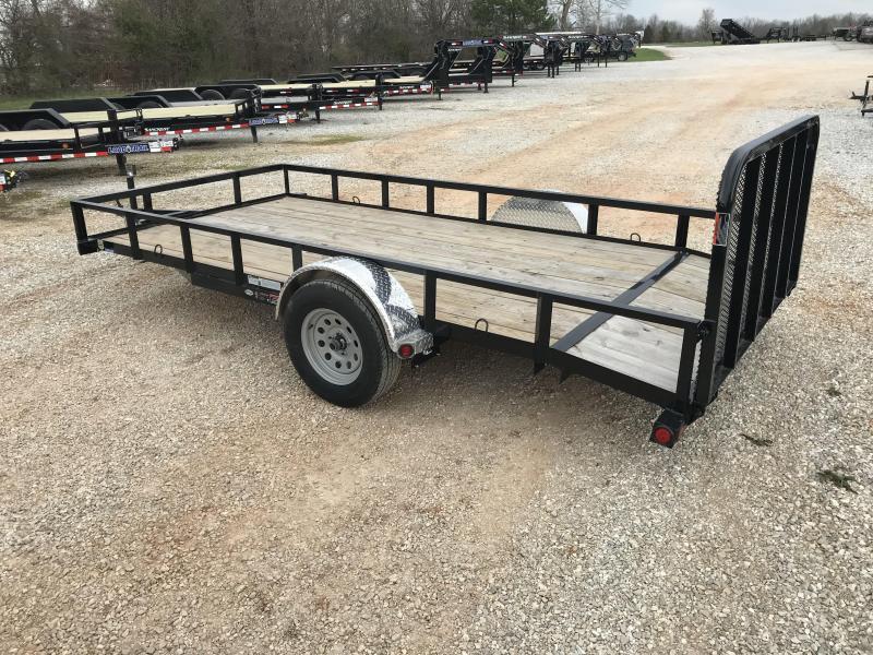 2018 Load Trail 77x14  Utility Trailer W/Alum Fenders