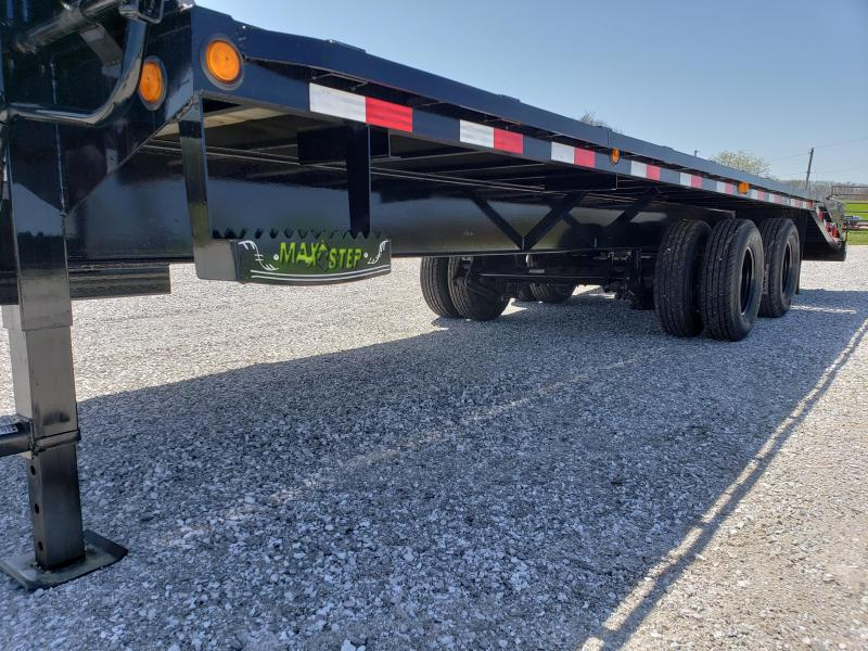 "2018 Load Trail 102"" X 25' Tandem Heavy Duty Gooseneck Equipment Trailer"