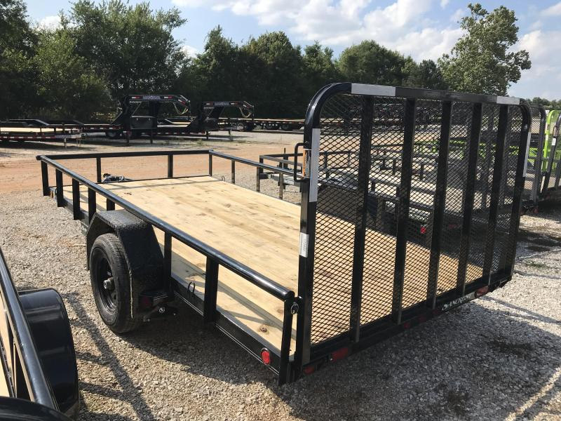 2019 Load Trail 83X14 UTILITY W/5200# BRAKE AXLE/4' GATE