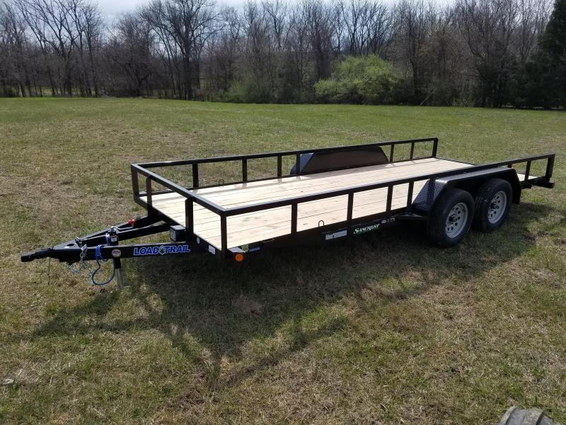 "2018 Load Trail 77"" X 18' Tandem Axle Utility Utility Trailer"