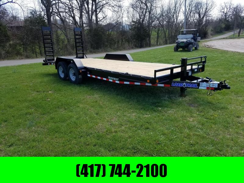 2018 Load Trail 83x22 Equipment Trailer W/Drop Leg Ramps