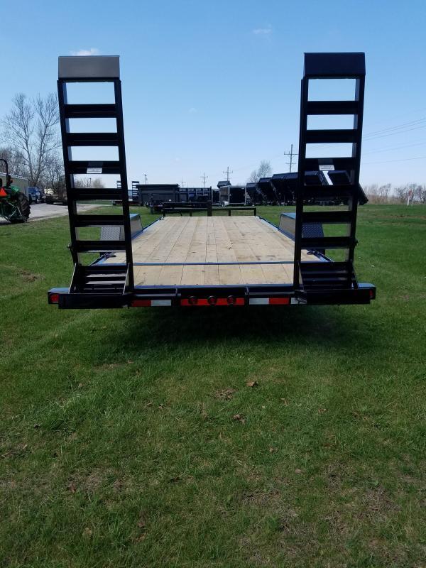 2018 Load Trail 83x22 Equipment Trailer W/Drop Leg Ramps