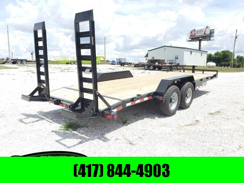 2019 Load Trail 83X22 Equipment Trailer W/FLIP RAMPS AND 7K AXLES in Norfork, AR
