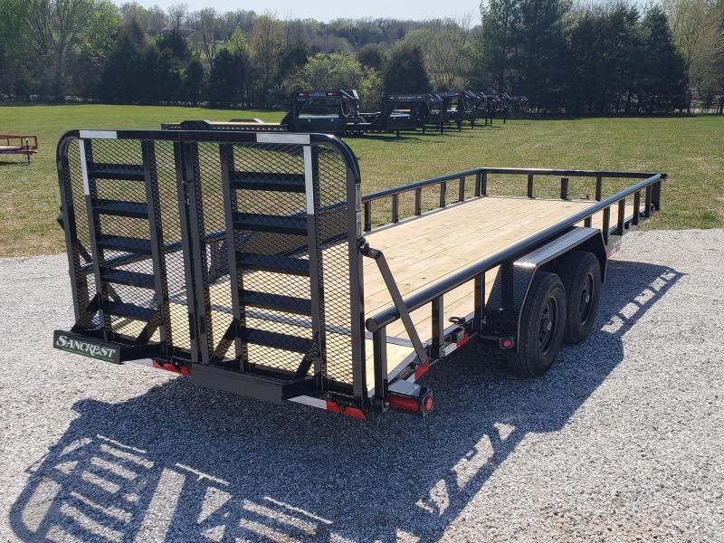 2018 Load Trail Equipment / Carhauler Trailer