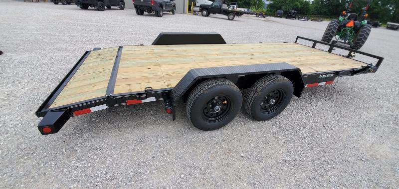 2019 Load Trail 83X18(16+2) TANDEM 10K CAR HAULER W/ SLIDE-OUT RAMPS